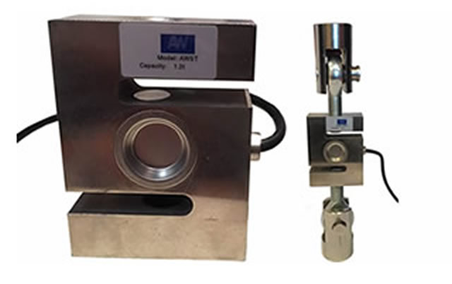500 kg capacity  with swivel foot and spacer plate Shear beam load cell